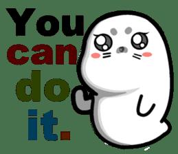 baby seal dodo(part1) sticker #7069821
