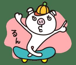pig, sticker #7069832