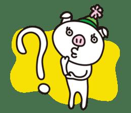 pig, sticker #7069836