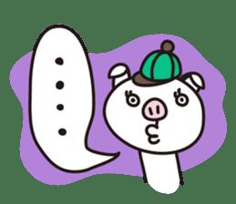 pig, sticker #7069838