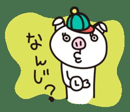 pig, sticker #7069843