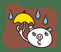 pig, sticker #7069845