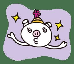 pig, sticker #7069847