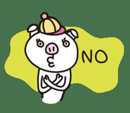 pig, sticker #7069848