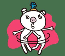 pig, sticker #7069852