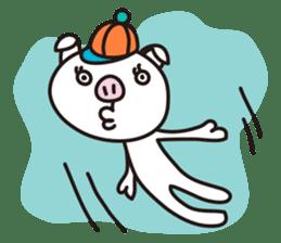 pig, sticker #7069856
