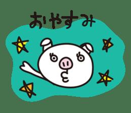 pig, sticker #7069865