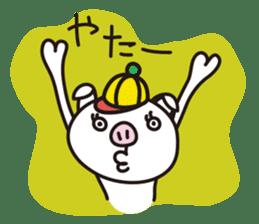 pig, sticker #7069869