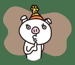 pig, sticker #7069870