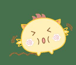 Lupy the Yellow sticker #7070721