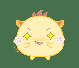Lupy the Yellow sticker #7070742