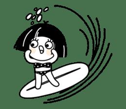 Warako will go on a trinp to Hawaii. sticker #7071532