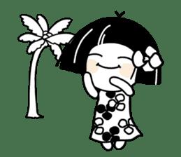 Warako will go on a trinp to Hawaii. sticker #7071554