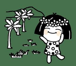 Warako will go on a trinp to Hawaii. sticker #7071562