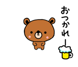 bear kuman sticker #7074130