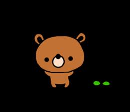 bear kuman sticker #7074134