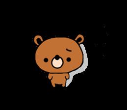 bear kuman sticker #7074135