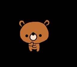 bear kuman sticker #7074136
