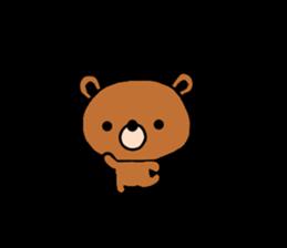 bear kuman sticker #7074139