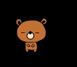 bear kuman sticker #7074141