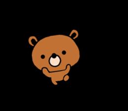 bear kuman sticker #7074142
