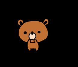 bear kuman sticker #7074143