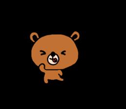 bear kuman sticker #7074144