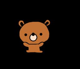 bear kuman sticker #7074146