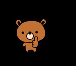 bear kuman sticker #7074147