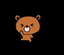 bear kuman sticker #7074150