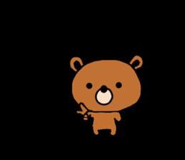 bear kuman sticker #7074152