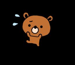 bear kuman sticker #7074156