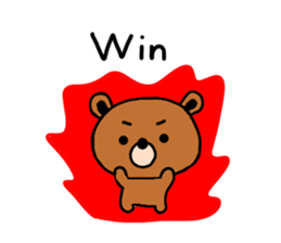 bear kuman sticker #7074157