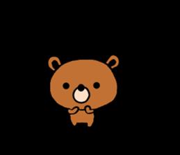 bear kuman sticker #7074159