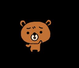 bear kuman sticker #7074160