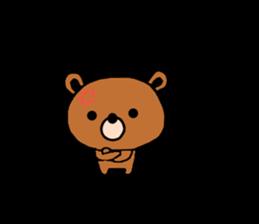 bear kuman sticker #7074162