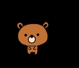 bear kuman sticker #7074166