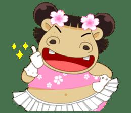 Hippo (Eng) sticker #7074811