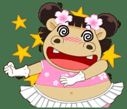 Hippo (Eng) sticker #7074843