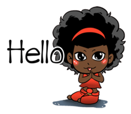 Ngor : The beautiful girl (EN) sticker #7076368