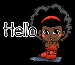 Ngor : The beautiful girl (EN) sticker #7076368