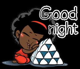 Ngor : The beautiful girl (EN) sticker #7076388