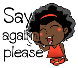 Ngor : The beautiful girl (EN) sticker #7076406