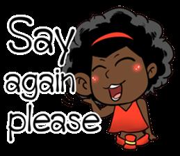 Ngor : The beautiful girl (EN) sticker #7076406