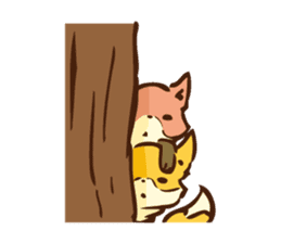 The story of Fox 1-2 (emotions) sticker #7076729
