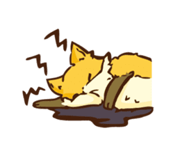 The story of Fox 1-2 (emotions) sticker #7076741