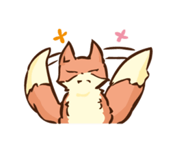 The story of Fox 1-2 (emotions) sticker #7076744