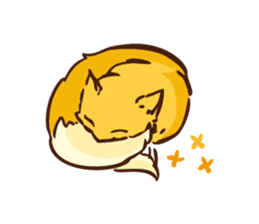 The story of Fox 1-2 (emotions) sticker #7076747