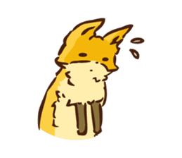 The story of Fox 1-2 (emotions) sticker #7076749