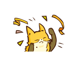The story of Fox 1-2 (emotions) sticker #7076757